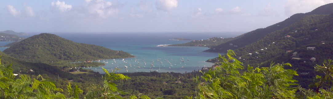 coral bay saint john virgin islands overlook