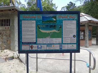 Trunk Bay sign
