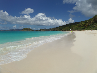 Trunk Bay from West end